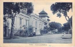 ASIA Asie - VIET NAM Vietnam - HANOÏ : Boulevard Bobillot ( Automobile D'époque ) CPA - - Vietnam