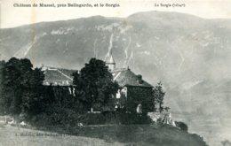 CPA - BELLEGARDE  - CHATEAU DE MUSSEL - LE SORGIA - Bellegarde-sur-Valserine