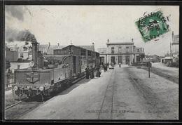 CPA 14 - Courseulles-sur-Mer, La Gare - ND - Courseulles-sur-Mer
