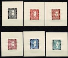 Belg. 1947 Er. Prins Karel/ Prince Charles Velletjes Dik Papier / Feuillets Papier épais (type B) - Commemorative Labels