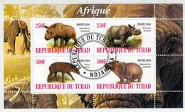 REPUBLIQUE  DU  TCHAD     POSTE  2010    AFRIQUE              S.SHEET   (TIMBRATO ) - Ciad (1960-...)