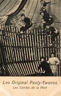 CPA RARE LES ORIGINAL PAOLY EWANOS LES CERCLES DE LA MORT CYCLISTE - Circus
