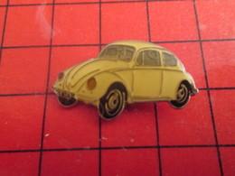 1116c Pins Pin's / Rare & De Belle Qualité  THEME : AUTOMOBILE / VW COCCINELLE VOLKSWAGEN Et Ses Tests Truqués !!! - Volkswagen