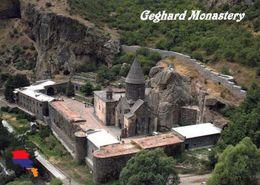 1 AK Armenien * Blick Auf Das Geghard-Kloster - Luftbildaufnahme - Seit 2000 UNESCO Weltkulturerbe * - Armenia