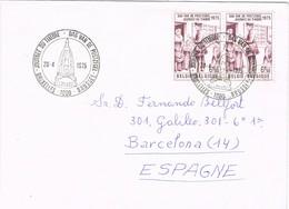 32724. Carta BRUXELLES (Belgien) 1975. Journée Du Timbre - Bélgica