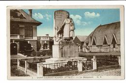 CPA - Carte Postale-FRANCE -Saint Laurent Blangy- Le Monument -VM3157 - Saint Laurent Blangy