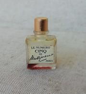 Miniature échantillon Ancien Parfum Le Numéro Cinq De Molyneux, Paris - Miniature Bottles (without Box)