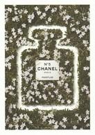 CHANEL   Dans Les Champs De CHANEL   Grande Belle Carte  (17 / 12 Cm ) **N° 5** R V / - Perfume Cards