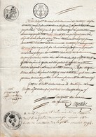 1822 - VERTAIZON (63) - Publication De Mariage - Documents Historiques