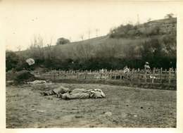 150519B - PHOTO GUERRE 1914 18 MILITARIA - 02 MARGIVAL Cimetière Mort Cadavre - Andere Gemeenten