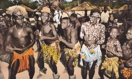 Afrique > Centrafricaine (République) Scène De Danse - República Centroafricana