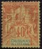 Oceanie (1892) N 10 * (charniere) - Oceania (1892-1958)