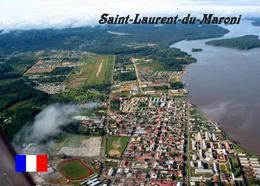 French Guiana Saint Laurent Du Maroni Aerial View Guyane New Postcard - Autres