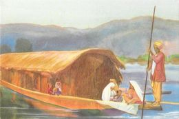 Missions, Illustration: Baramulla (Pakistan) Missiebezoek Langs De Stroom (Visite De Mission Au Bord De La Rivière) - Missions