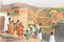 Missions, Illustration: Middelt, Maroko (Midelt, Maroc) - Dorpsbezoek (Visite Du Village) - Missions