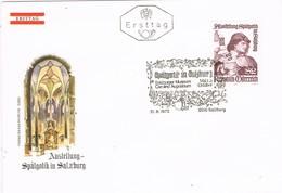 32729. Carta F.D.C. SALZBURG (Austria) 1972. SpatGotik Salzburg, Salzburger Museum - FDC