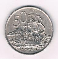 50 CENTS 1967  NIEUW ZEELAND /4009/ - Nouvelle-Zélande