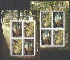 N727 2011 ROMANIA FLORA & FAUNA EUROPA PADURI FORESTS MICHEL 40 EURO 2KB MNH - Timbres
