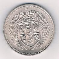 ONE DOLLAR 1967 (mintage 300010 Ex.) NIEUW ZEELAND /4010/ - Nouvelle-Zélande
