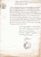 1838 - LUZILLAT (63) - Acte De NAISSANCE De Magdeleine Morin - Documents Historiques