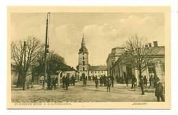 Ukraina Zaleszczyki Obw Tarnopol Ulica Kościół Ok 1930 R - Ukraine