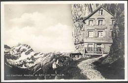 Schweiz Suisse 1929: Gasthaus Aescher M. Altmann 1461m.ü.M. Mit O WEISSBAD 16.VIII.29 (APPENZELL) - AI Appenzell Inner-Rhodes