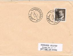 32732. Carta GRANADA 1982 A Barcelona - 1931-Hoy: 2ª República - ... Juan Carlos I