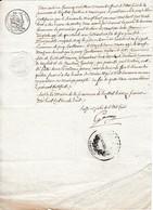 1838 - LUZILLAT (63) - Publication DE MARIAGE - Documents Historiques