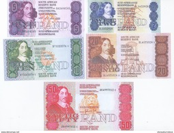 South Africa 5 Note Set 1978 COPY - Zuid-Afrika