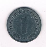 1 PFENNIG 1945 A -??- DUITSLAND /4013/ - [ 4] 1933-1945 : Troisième Reich