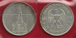 GERMANIA 1934 J - 5 Reichsmark  BB / SPL - Argento / Argent / Silver - Confezione In Bustina  (3 Foto) - [ 4] 1933-1945 : Troisième Reich