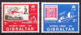 Gibraltar MNH Set - Stamps On Stamps