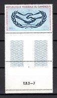 CAMEROUN PA N° 68  NEUF SANS CHARNIERE COTE  2.50€  NATIONS UNIES - Cameroun (1960-...)