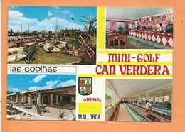 CPM - PENSION LAS COPINAS - Bowling Minigolf - Can Ca'n Verdera - Playas De Palma - Mallorca - Multivues - ARENAL - Mallorca