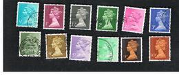 GRAN BRETAGNA (UNITED KINGDOM) -  SG X841.885 -  1971 QUEEN ELIZABETH II   - USED° - 1952-.... (Elisabetta II)