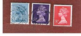 GRAN BRETAGNA (UNITED KINGDOM) -  SG X865.878  -  1973 QUEEN ELIZABETH II    - USED° - Usati
