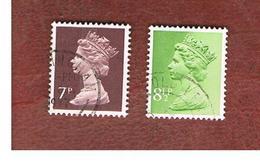 GRAN BRETAGNA (UNITED KINGDOM) -  SG X874.881  -  1975 QUEEN ELIZABETH II    - USED° - Usati