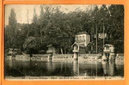 SPR526, Environs D'Orléans, Olivet, Les Bords Du Loiret, L'ardoise, 583, Circulée - Other Municipalities