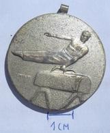 MEDAL Gymnastics HUNGARY 1959 DIAK SPORT KOZPONT TERULETI BAJNOKSAG  KUT - Gymnastics