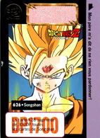 Carte 626 Dragon Ball Z Carddass-Bandai 1995 DP1700 Fr DBZ Songohan En B.Etat - Dragonball Z