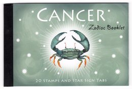 Australia 2005 Prestige Booklet Zodiac Cancer Sterrenbeeld Kreeft - Astrology