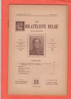 LE PHILATELISTE BELGE N° 149   Mars 1934  52 Pages  ( D Autres N° Disponibles Contactez Moi ) - Littérature