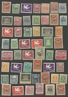 Estland Estonia 1918-1940 Kleines Los V. 51 Unbenutzte Briefmarken, Mit Und Ohne Gummi */(*) - Estland