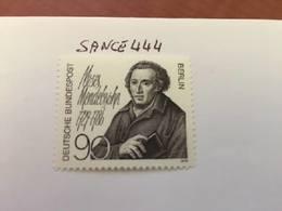 Berlin M. Mendelssohn Philosopher Mnh 1979 - [5] Berlin