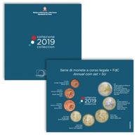 Italie 2019 : Coffret BU Des 8 Pièces - Disponible En France - Italie