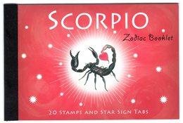 Australia 2005 Prestige Booklet Zodiac Scorpio Sterrenbeeld Schorpioen - Astrology