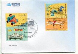 """""""LA CALESITA"""". ARGENTINA AÑO 1996, SOBRE PRIMER DIA DE EMISION, FDC ENVELOPE. - LILHU - Juegos"""