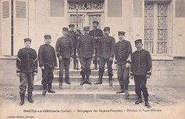45.Batilly-en-gatinais. Sapeurs-pompiers Ecrite Bon état - Frankreich