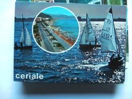 Italië Italy Italien Liguria Savona Ceriale Boats - Savona