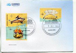 """""""LA CALESITA"""". ARGENTINA AÑO 1996, SOBRE PRIMER DIA DE EMISION, FDC ENVELOPE. - LILHU - Infancia & Juventud"""